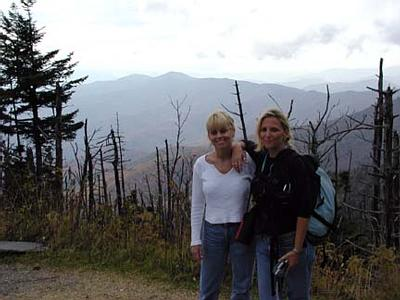 Dana and Gaby Finish the Forney Creek Hike.