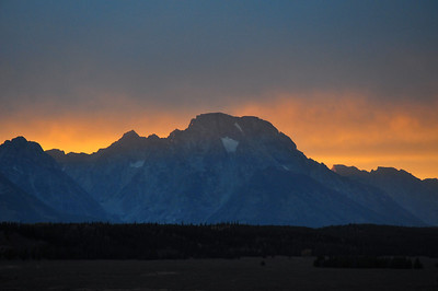 Mt Moran sunset GYE #107