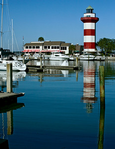 Harbor Town Lighthouse, Hilton Head South Carolina --
