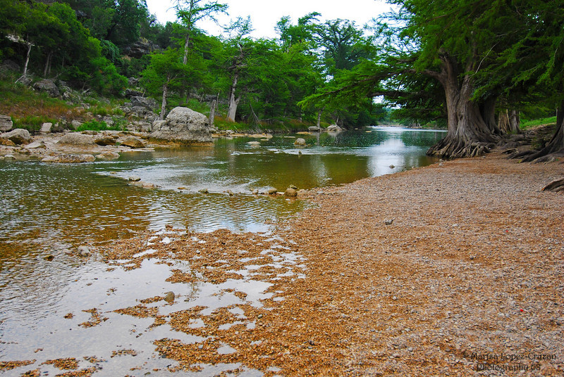 Guadalupe River in Summer
