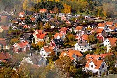 Vy från Svampen i Örebro