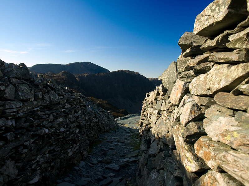 Haystacks from the old Fleatwith slate mines
