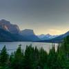 Saint Mary Lake in Glacier National Park.