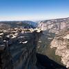 Diving Board, on top of Half Dome, Yosemite, CA.