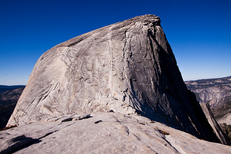Half Dome and the cables