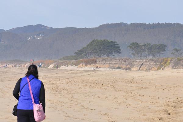 Half Moon Bay and Moss Beach
