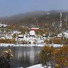 Hodnaberg...den fyrste snøen 2008