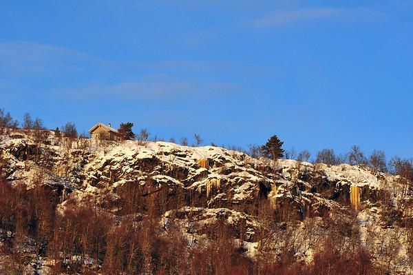 Hytte i fjellet...12.12.2010.