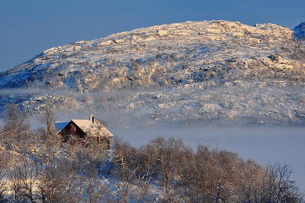 Hamlagrø 21.12.2010. -17g.