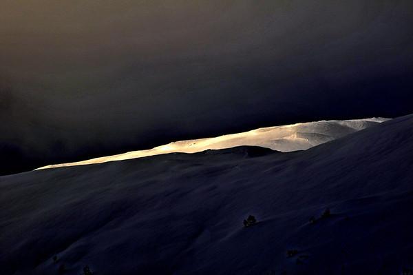 Siste streif av sol...19.01.2011