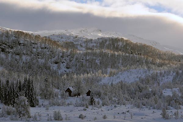 Skitur på Hamlagrø idag 19.01.2011