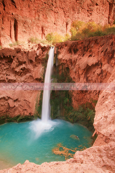 Mooney Falls- Havasupai Reservation Grand Canyon 1