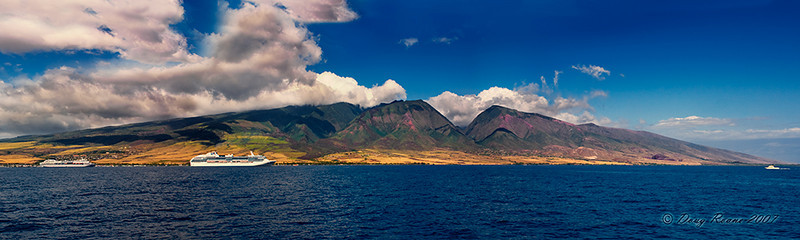 The Island of Maui, Panorama