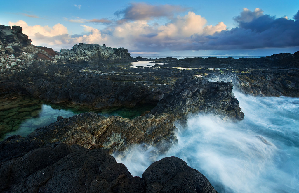 Surf and Tide Pools<br /> Northwest Maui
