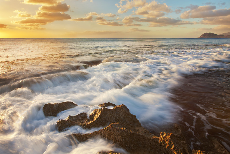 Waves and Shoreline II, Ko'Olina, Oahu