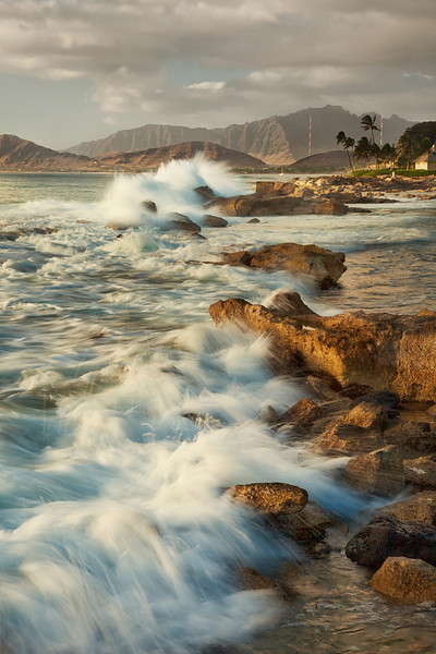 Waves and Shoreline, Ko'Olina, Oahu