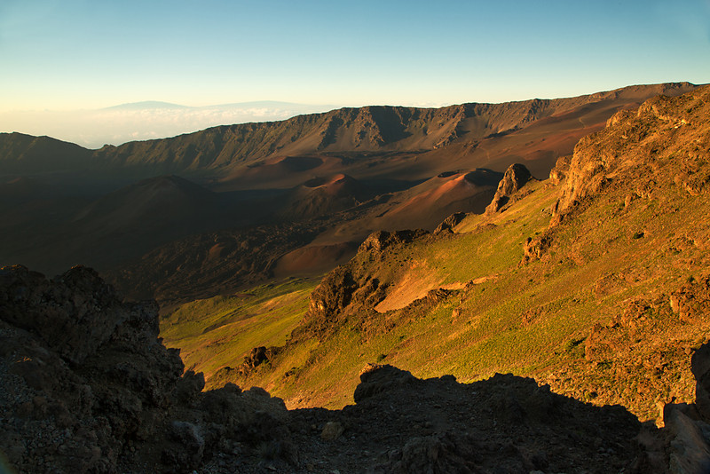 Sunrise, Kalahaku Overlook, Haleakala National Park, Maui