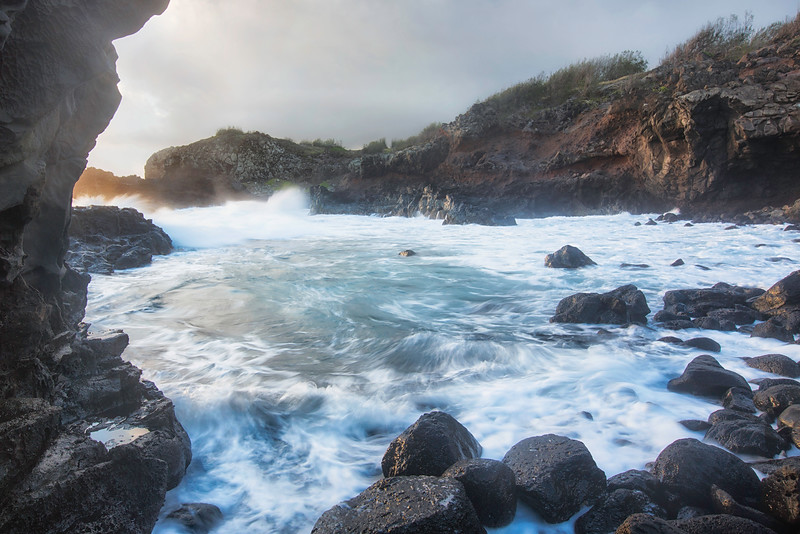 Rocky Cove in Northwest Maui