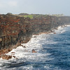 Sea cliffs, at the end of Chain of Craters Road