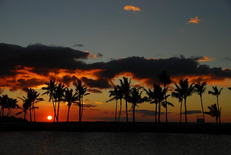 Sunset #3, photo #7 - ten minutes of a sunset, ~ 1 minute between shots