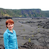 Aniko in Kilauea Iki Crater