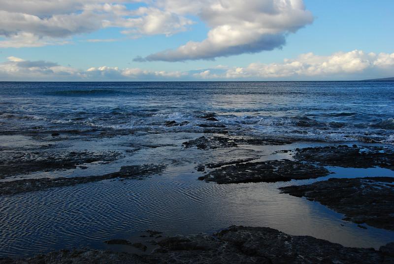 Tidal pools on the Kohala coast