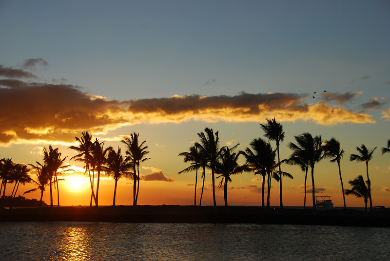 Sunset #3, photo #1 - ten minutes of a sunset, ~ 1 minute between shots