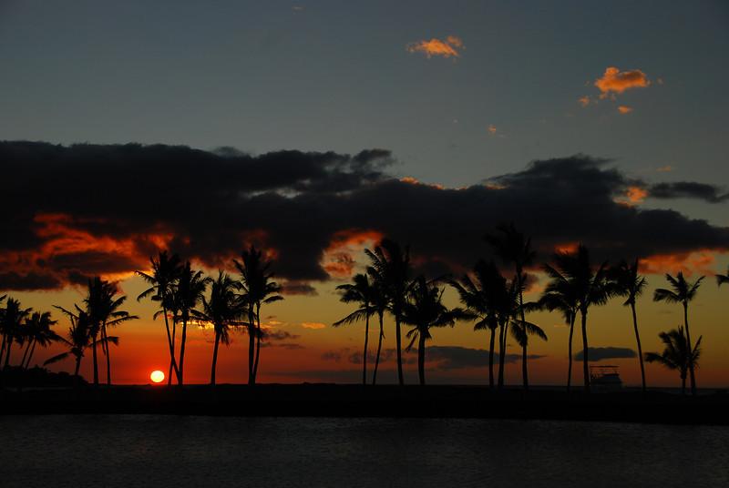Sunset #3, photo #8 - ten minutes of a sunset, ~ 1 minute between shots