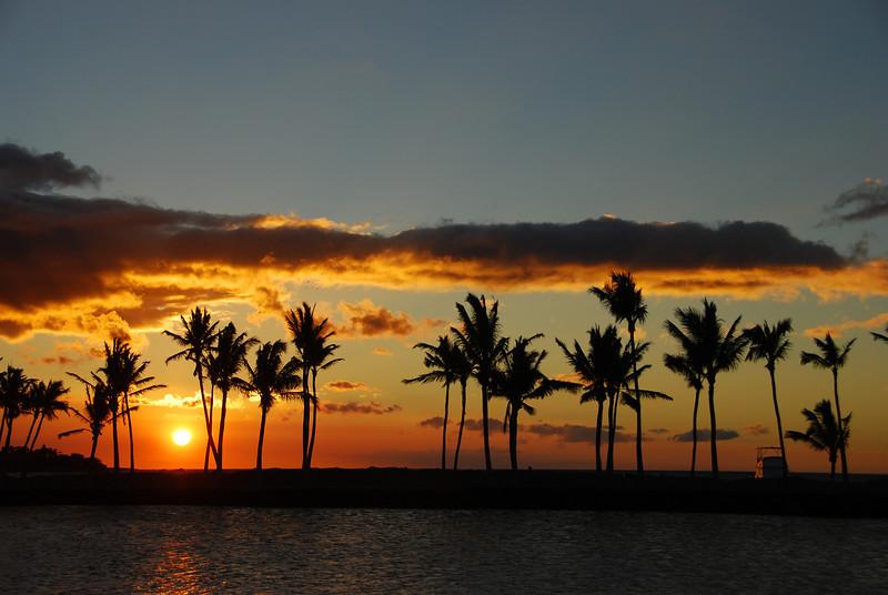 Sunset #3, photo #4 - ten minutes of a sunset, ~ 1 minute between shots