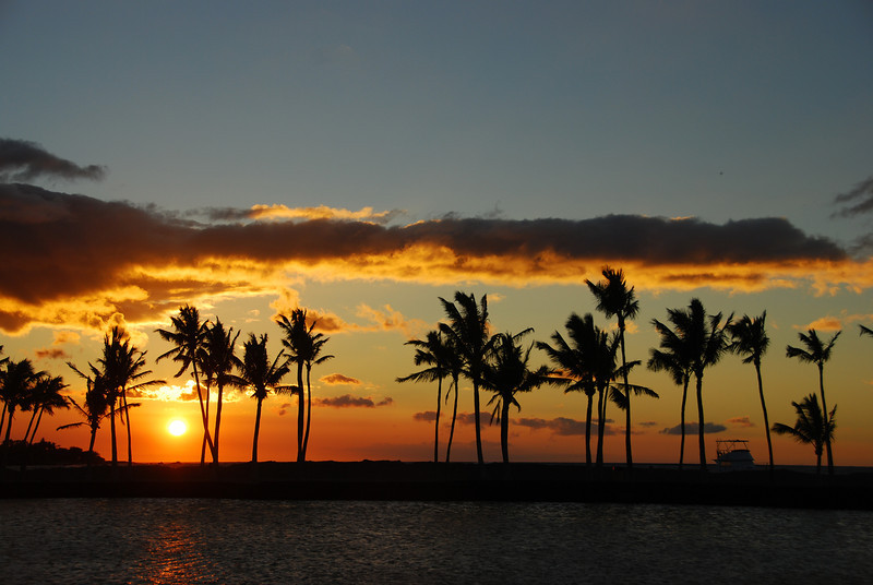 Sunset #3, photo #3 - ten minutes of a sunset, ~ 1 minute between shots