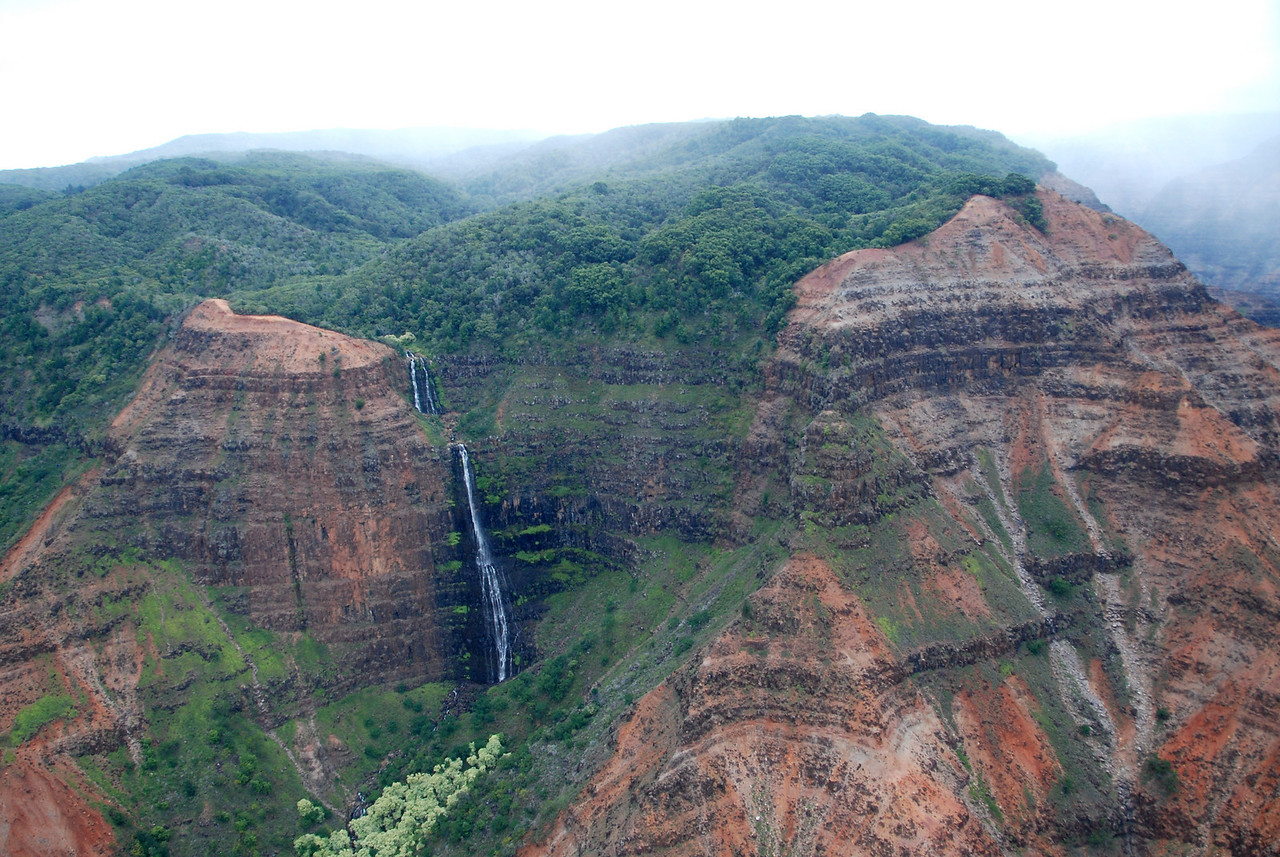 Waterfall, Waimea Canyon, Kauai