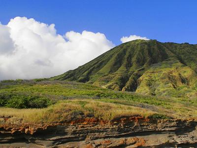 Oahu ancient volcano