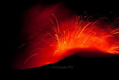 Fiery Night  20090106_Volcano_002