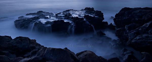 Misty Rocks Oahu, Hawaii  20090108_Waikiki_348