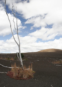 """Kilauea Volcano. This is the place to find """" Pele's tears""""."""