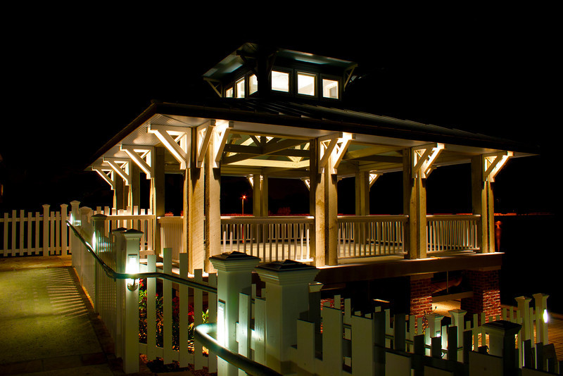 Boathouse at Night