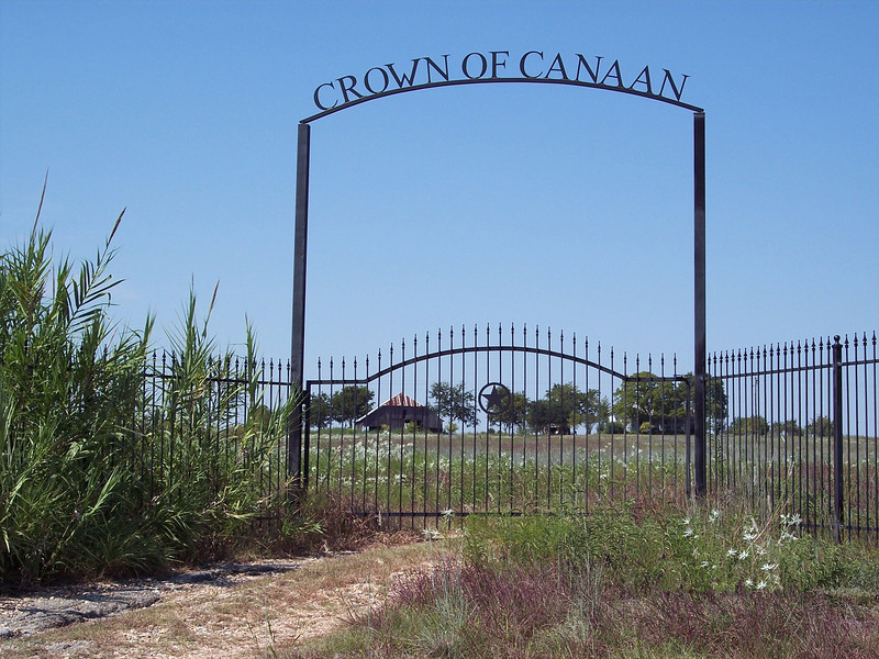 The Entrance to Crown of Canaan