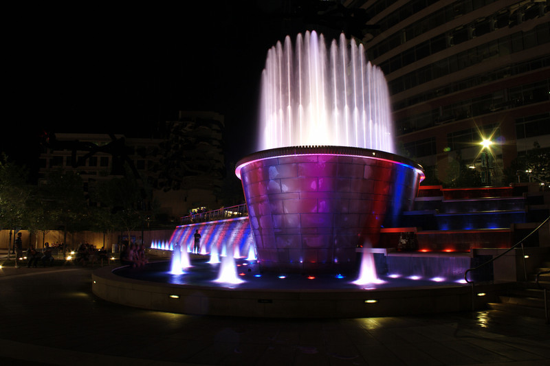 The Woodlands Waterway Fountain