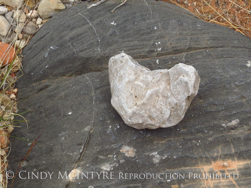 Heart rock, Red Rock Canyon NV (1)
