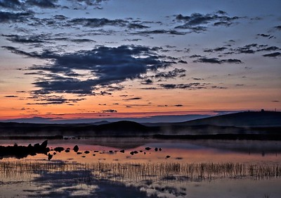 Sunrise over Loch.