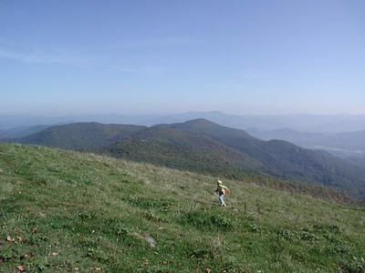 We love the 360 degree views which includes the Great Smokies.