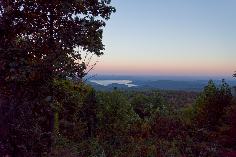 Lake Jocassee from Wigington Overlook