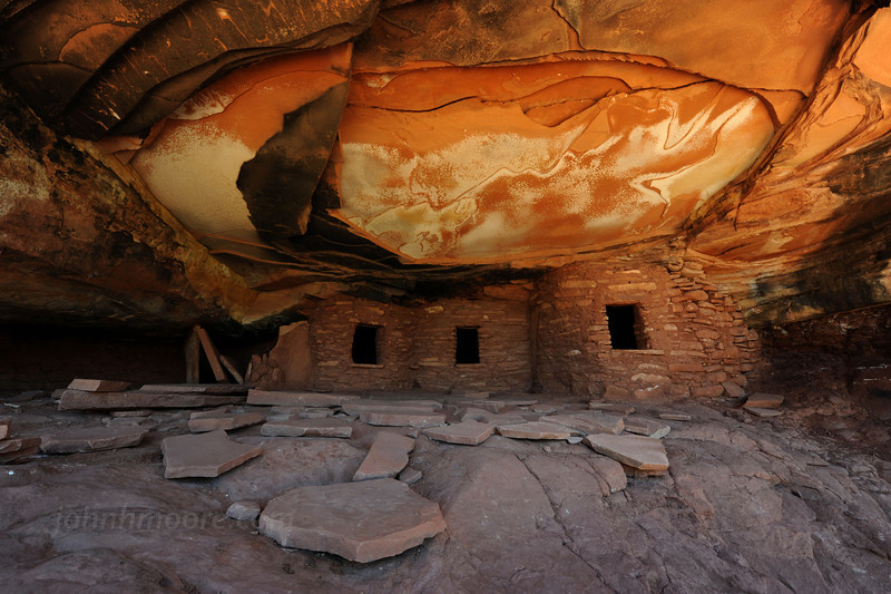 Fallen Roof House -- an Ancient Puebloan (Anasazi) ruin (horizontal)