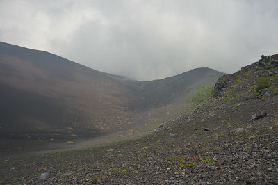 Hike to Hoei crater at Mt Fuji