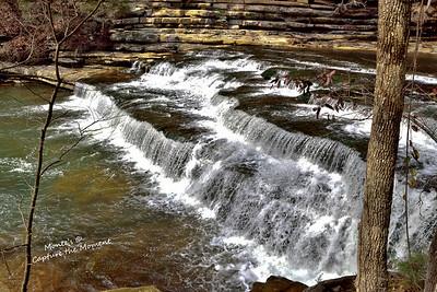 Falls along Hilham Highway