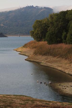 Briones Reservoir hike Sept 20th, 2014