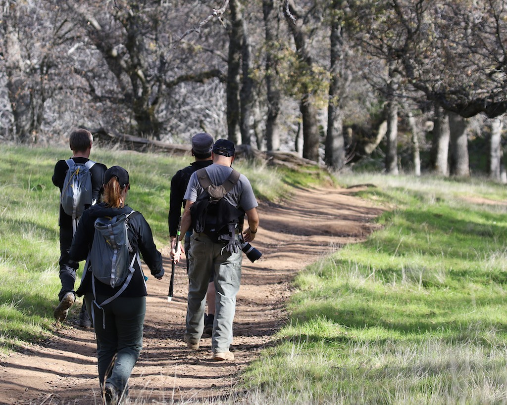 Round Valley hike Jan1  106