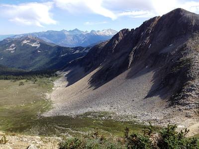 A view of Gotcha Peak