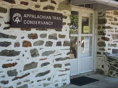 We walked up Washington Street to the Appalachian Trail Conservancy.