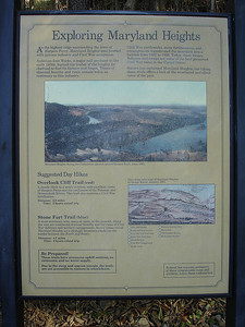 During the Civil War the summit of Maryland Heights was bare.